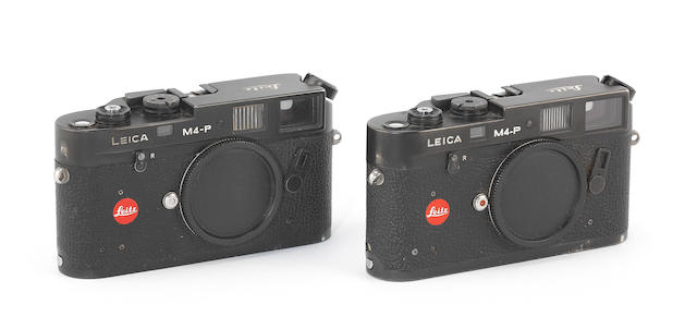 Leica M4-P: Two cameras, 1981 and 1984/5, (2)