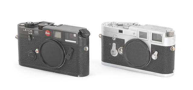 Leica M3 and Leica M6, 1961 and 1984/5, (2)