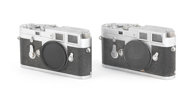 Leica M3: Two cameras, 1960 and 1965, (2)