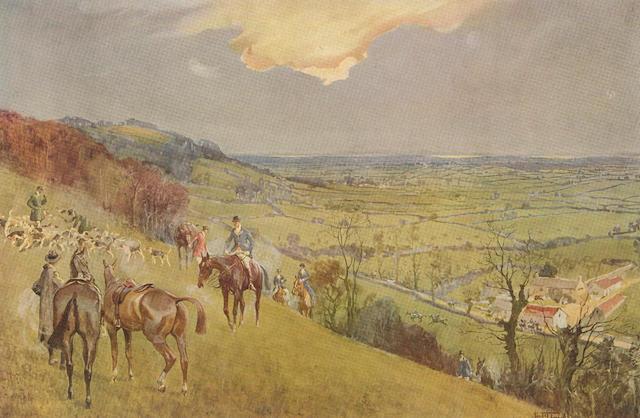 "HUNTING - [BARROW (ALBERT STEWART)] Shires and Provinces by ""Sabretache"", 1926 [1927]; More Shires and Provinces by ""Sabretache"", 1928 (2)"