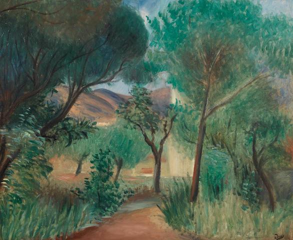 André Derain (French, 1880-1954) Sous-bois en Provence