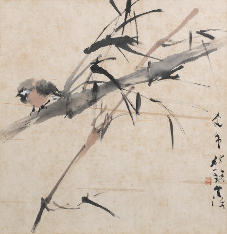 Chen Wen Hsi (1906-1991) Three paintings