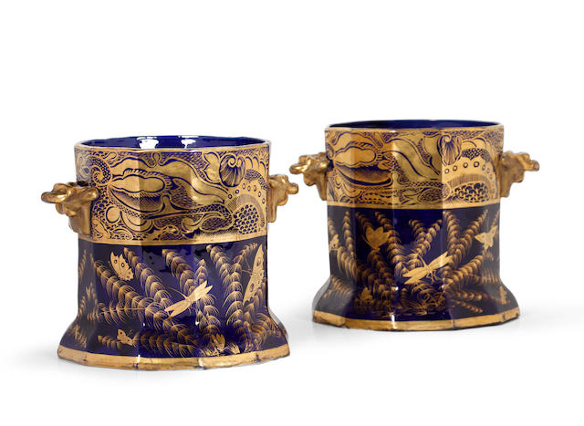 A pair of mid 19th Century ice pails