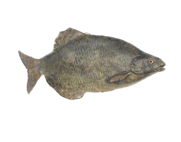 Martin Brothers a Rare Stoneware Model of a Carp, 1896