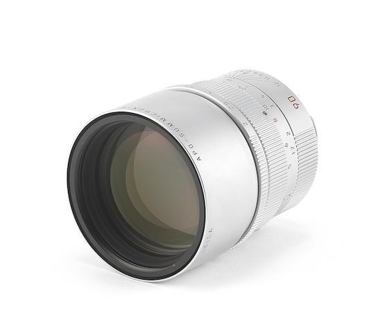 Leica APO-Summicron-M f1:2/90mm ASPH E55, 2002,