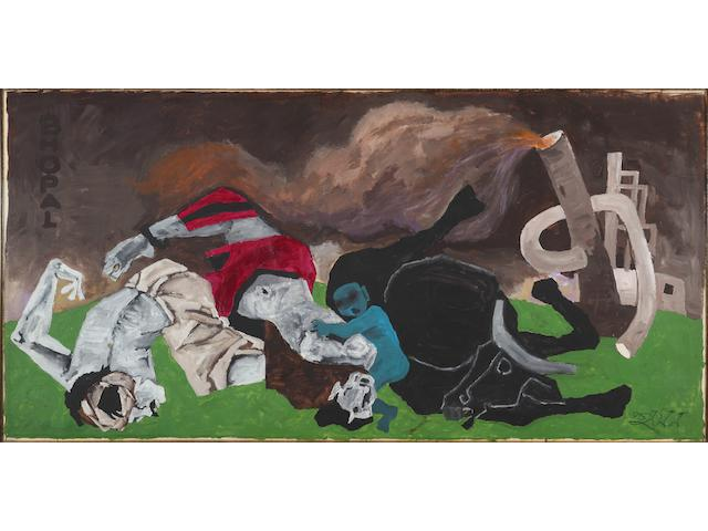 Maqbool Fida Husain (India, 1915-2011) Bhopal,