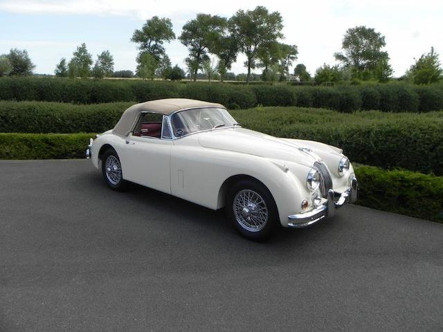 1958 Jaguar XK150 SE 3.4-Litre Drophead Coupé  Chassis no. S837442BW Engine no. V4014-8