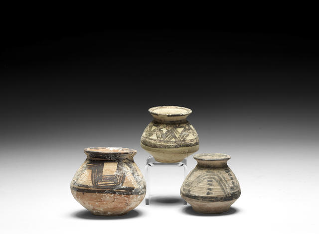 Three Ancient Near Eastern miniature pottery vessels 3
