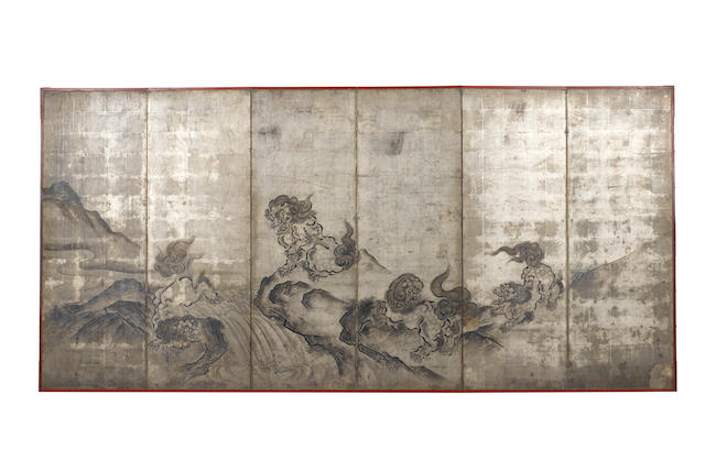 Anonymous Kano School, Edo Period, circa 1700