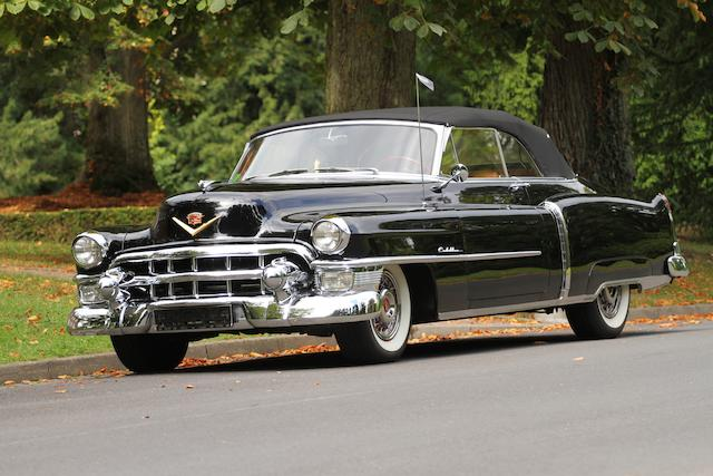 1953 Cadillac Series 62 Convertible Coupé  Chassis no. 536273698