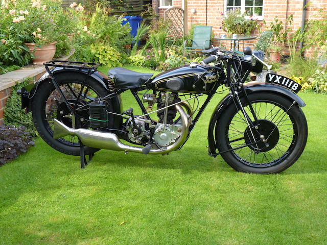 1928 Rudge 499cc Special Frame no. 28706 Engine no. 50787