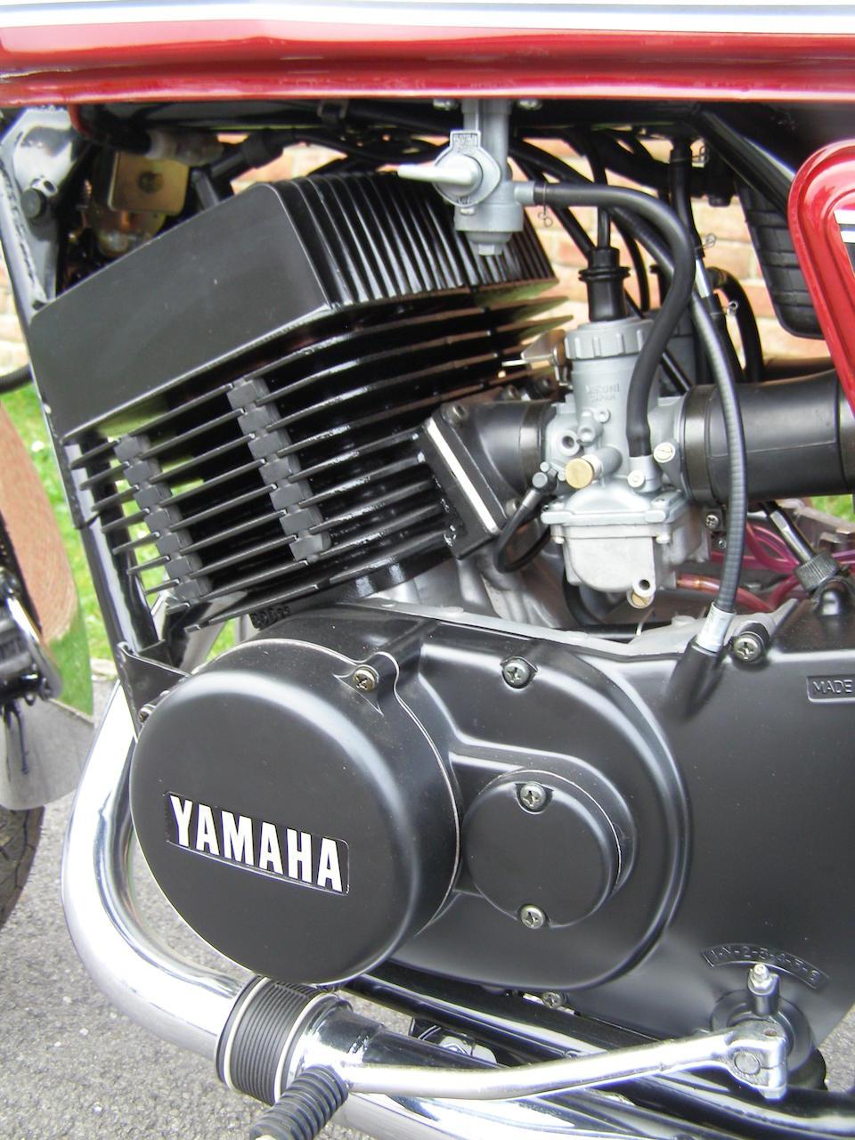 A pre-production model; 45 kilometres since restoration,1975 Yamaha RD400 Frame no. 1A3-000008 Engine no. 1A3-000008