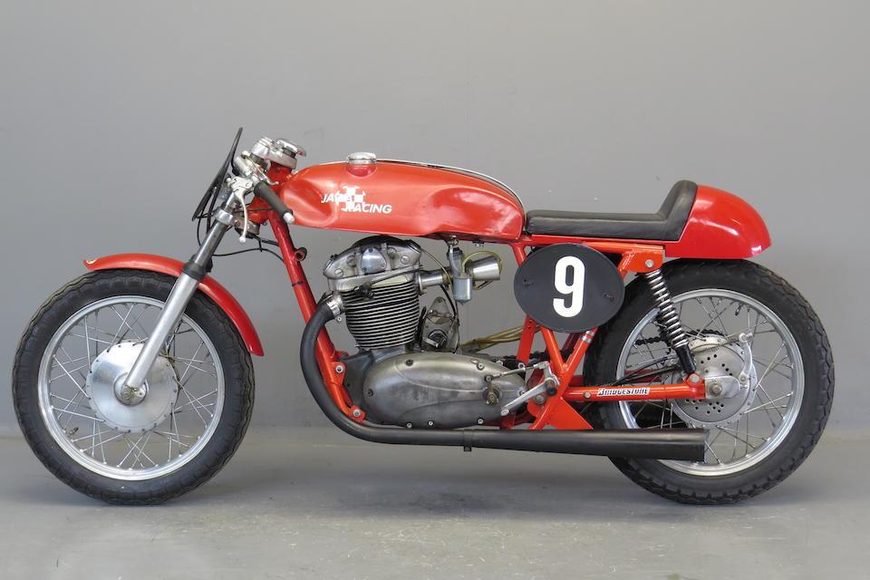 c.1953 Jawa 500cc Racing Motorcycle Frame no. 362004591 Engine no. 15-000226