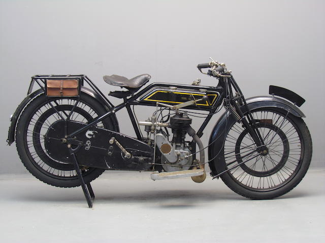 1923 Sunbeam 347cc Model 1 Frame no. 20149 Engine no. 21131