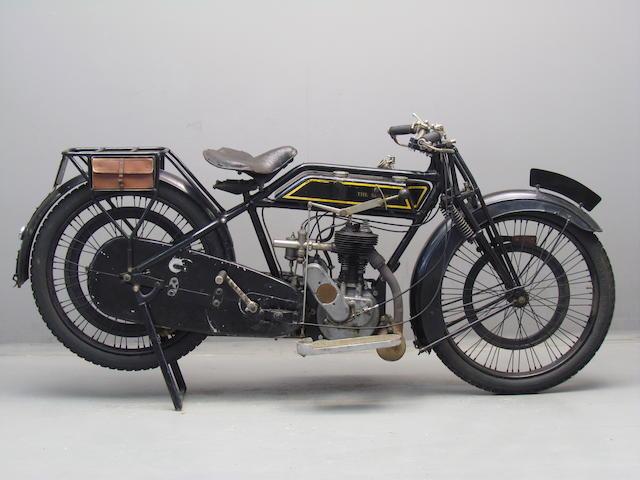 1923 Sunbeam 347cc Model 1 Frame no. 20149 Engine no. 21131