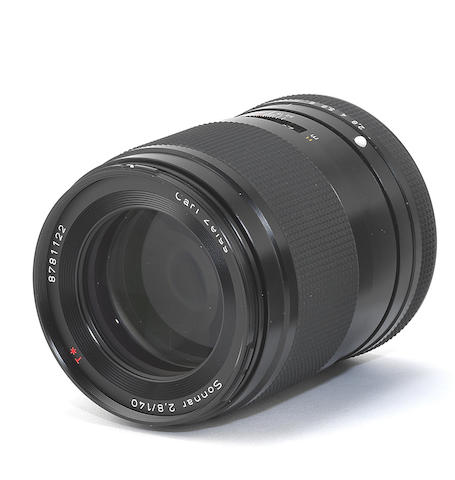 Carl Zeiss Sonnar T* 140mm f/2.8 lens,