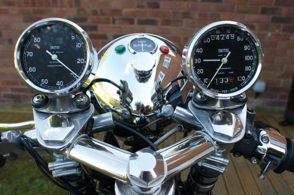 1967 Norton 750cc Café Racer Frame no. 18 120200 Engine no. 97952 14SS