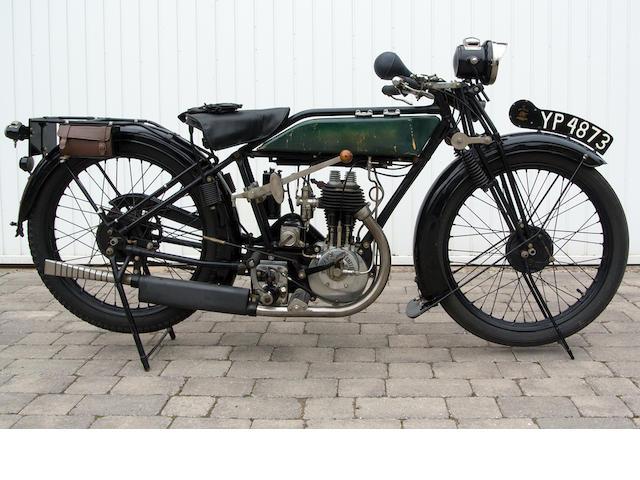 1926 Royal Enfield 2¾hp Standard Frame no. 11964 Engine no. A6737