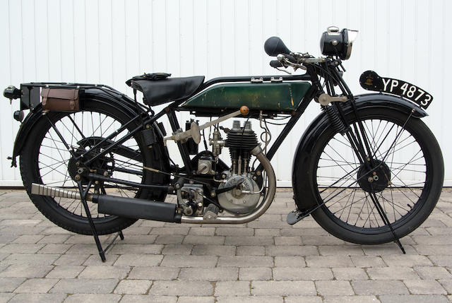 1926 Royal Enfield 2¾hp Standard Frame no. 11964 Engine no. A6737