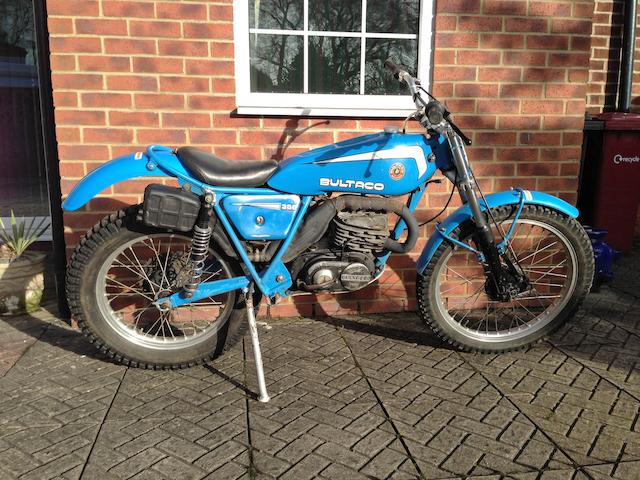 1981 Bultaco 350cc Sherpa Trials Frame no. JB-15903258 Engine no. JM-19912320-A