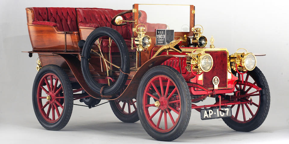 In the Sears family ownership since 1936,1903 Clement Talbot Type CT4K 18hp Four-cylinder, 'Roi-d'Italie' Tonneau  Chassis no. CT4K 5032 Engine no. AC4L 101