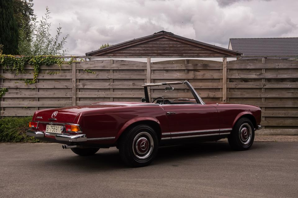EU delivery,1970 Mercedes-Benz 230SL Convertible with Factory Hardtop  Chassis no. 113042-10-007988 Engine no. 12798-10-006813
