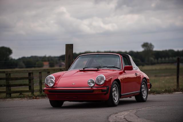 1977 Porsche 911 2.7-Litre Targa  Chassis no. 9117310887 Engine no. 6371850