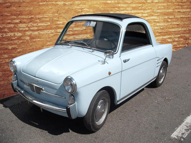1961 Autobianchi Bianchina Trasformabile  Chassis no. 032091 Engine no. 110D 000*296027*