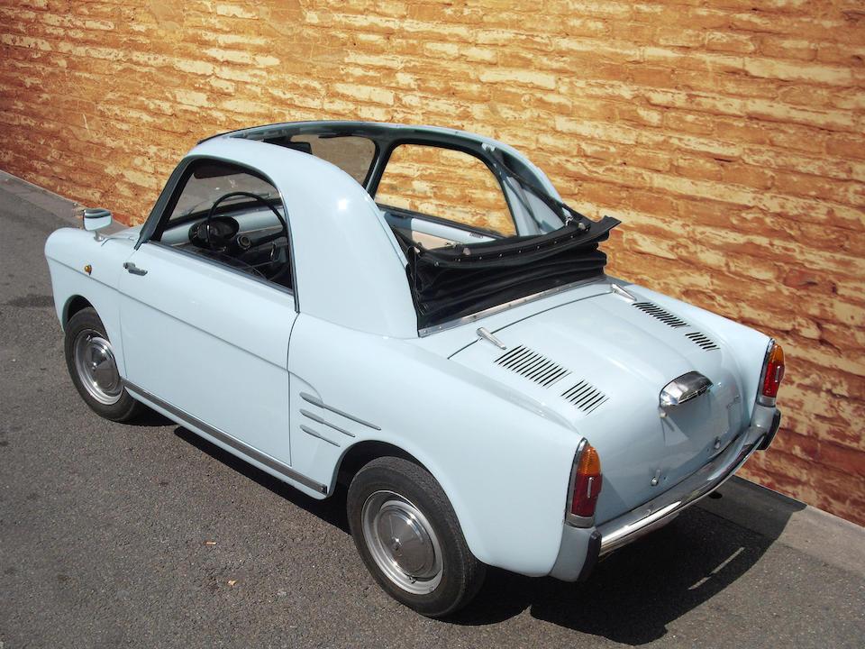 1961 Autobianchi Bianchina Trasformabile  Chassis no. 032091 Engine no. 110D 000*296027*