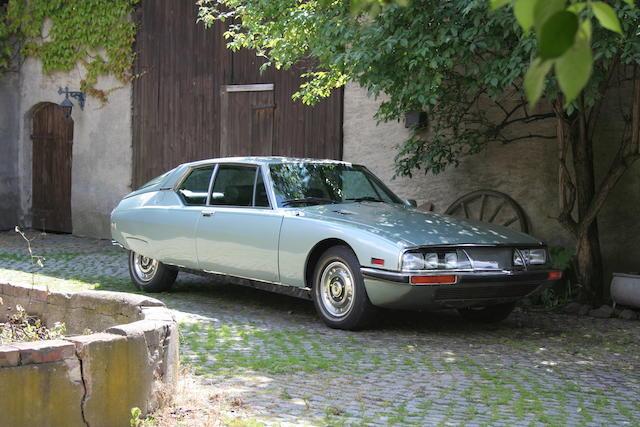 1972 Citröen SM Coupé  Chassis no. OOSB4381