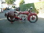 1928 Indian 750cc 101 Scout Frame no. 4760 Engine no. DGP4760