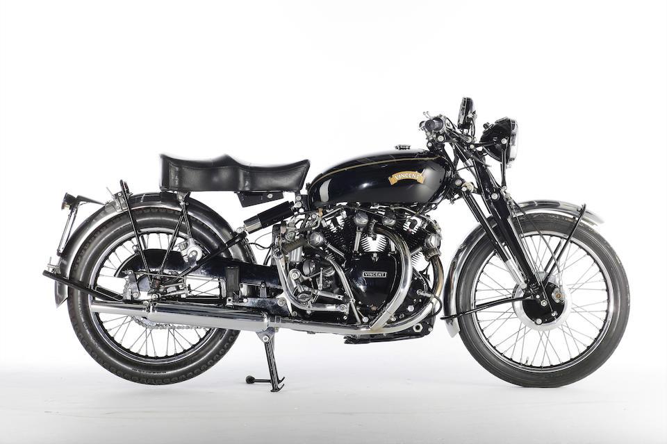 1951 Vincent 998cc Black Shadow Frame no. RC9234B (see text) Engine no. F10AB/1B/7334