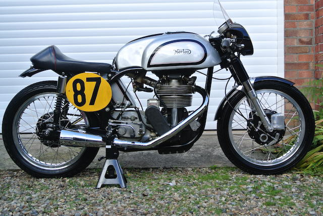 1962 Norton 500cc Manx Racing Motorcycle Frame no. 11M 102745 Engine no. 11M 102745