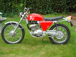 1971 Greeves 249cc Griffon Enduro Frame no. 60 N 188 Engine no. GPF 6 / 173