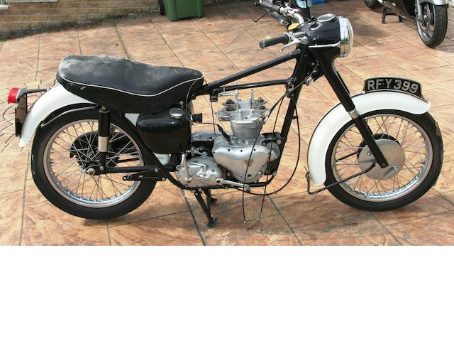 1959 Triumph 500cc Tiger 100 Project Frame no. 028483 Engine no. T100 028483
