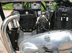 1939 Triumph 500cc Tiger 100 Frame no. TF 601 Engine no. 9-T100 16955