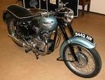 1958 Triumph 650cc Tiger T110 Frame no. 019922 Engine no. T110 019922