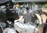 1956 Triumph 500cc Tiger 100 Frame no. 75922 Engine no. T100 80003