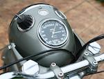 1959 Norton 600cc Dominator 99 Frame no. P14 77605 Engine no. P14 77605