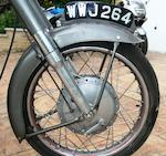 First owned by Bill Beevers,1956 Norton 600cc Dominator 99 Frame no. 67197 Engine no. 67197