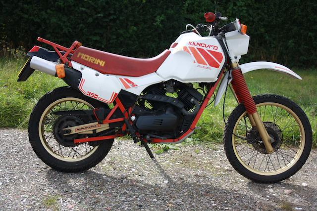 c.1988 Moto Morini 344cc Kanguro Frame no. 350X303160