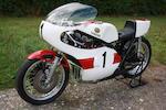 1974 Yamaha TZ750A Racing Motorcycle Frame no. 409-00356 Engine no. 409-81