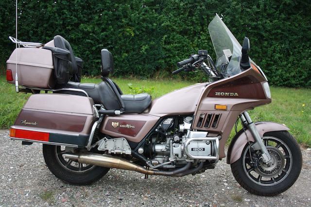 1986 Honda GL1200 Gold Wing Aspencade Frame no. 1HFSC1423GA223368 Engine no. SC14E2628108