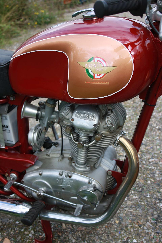 1961 Ducati 175 TS Frame no. 51461 Engine no. 35845