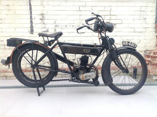 1921 Levis 211cc Popular Frame no. 10968 Engine no. 7992