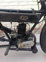 1921 Levis 211cc Popular Frame no. 10968 Engine no. 7992