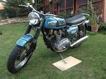 1970 Triumph 740cc Trident T150 Frame no. BC01989 T150 Engine no. BC01989 T150