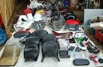 A quantity of Honda ST1100 parts and accessories,