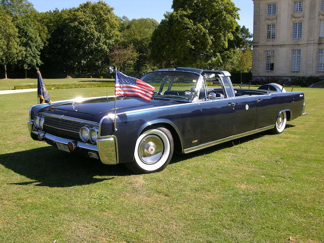 1963 Lincoln Continental Presidential Limousine Cabriolet  Chassis no. 3Y82N420576