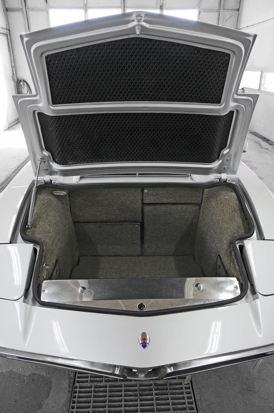 1973 Maserati Bora 4.9-litre Coupé  Chassis no. AM117 49 574